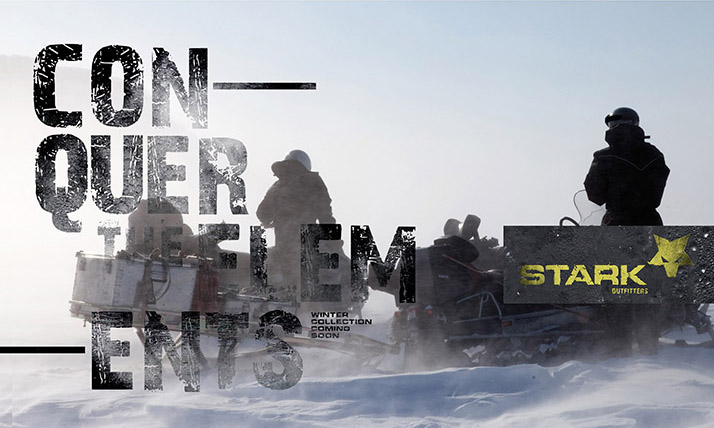 O inverno está chegando... fique longe dele com as roupas de neve STARK!