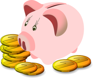 Guardar dinheiro na poupança, pode não ser uma boa opção. Fonte: Pixabay
