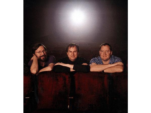 Ed, Steve e John.  (Fonte: http://www.computerhistory.org/revolution/computer-graphics-music-and-art/15/213/613)
